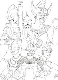 coloring pages for boys ultraman just colorings