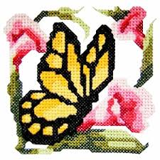 butterfly2 cross stitch butterfly machine embroidery design