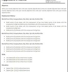 Google Resume Builder Free Resume Template In Word 2007 Ten Great Free Resume Templates