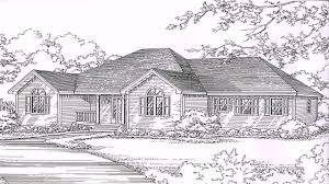 Hipped Roof House Plans House Plans Hip Roof Porch Youtube