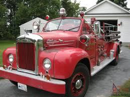 mack trucks for sale mack b85 antique fire engine