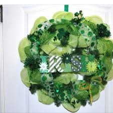 s day wreaths 151 best st patricks day wreaths images on