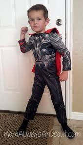 meet pint sized thor freee shipping on halloween costumes mom