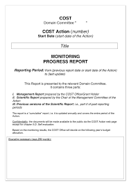 committee report template report template