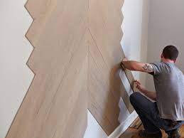 how to apply stikwood paneling hgtv
