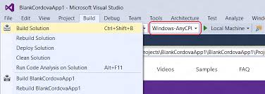 windows 10 target black friday targeting windows 10 with your apache cordova app the visual