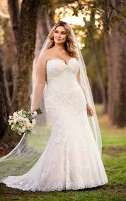 plus size bridal gowns wedding dresses lace plus size wedding gown stella york