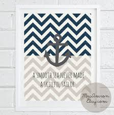 Anchor Print Inspirational Print Quot - anchor sea print 8x10 inspirational print quote by mrsamron
