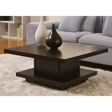 2017 popular square shaped coffee tables