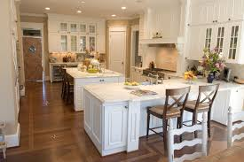 Kitchen Island Or Table by Kitchen Peninsula And Island With Both White Ideas Vs Uotsh