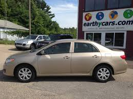 earthy cars blog earthy car of the week gold 2009 toyota corolla le