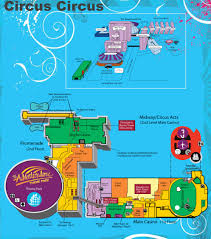 Map Of Casinos In Las Vegas by Las Vegas Circus Circus Hotel Map