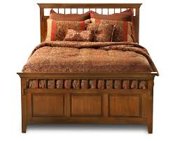 bedroom rustic style wood construction with panel beds