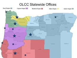 Springfield Oregon Map by Oregon Liquor Control Commission Public Safety Division