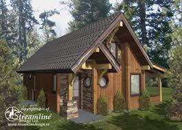 small a frame cabin plans chelwood cabin timber frame plans 695sqft streamline design