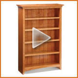 Arts Crafts Bookcase Free Plan Arts And Crafts Bookcase Finewoodworking