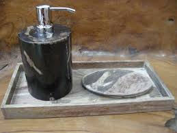 Wood Bathroom Accessories by Petrified Wood Bathroom Accessories For Sale From Indogemstonecom