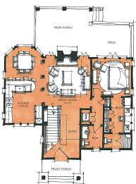 apartments log house plans open floor plans log home with cabin