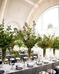 wedding tree centerpieces lush wedding garlands guaranteed to elevate your reception tables