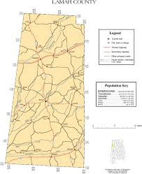 County Map Of Mississippi Lamar County Alabama History Adah