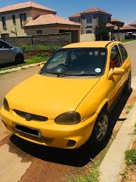 opel yellow 1998 opel corsa 1 4 colour edition junk mail