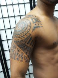 jersey tattoo tribal polynesian style tattoo