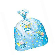 unique 44 x 36 inch dot baby shower jumbo plastic gift bag