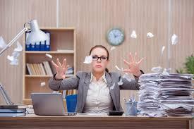 Secretary Under The Desk by Stress My Melbourne Chiropractor