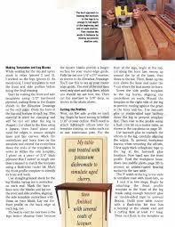 cabriole leg side table plans u2022 woodarchivist