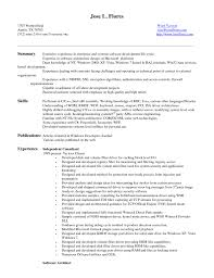 Entry Level Banking Resume Entry Level Software Engineer Resumes Template