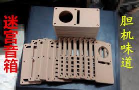 empty plastic speaker cabinets inch maze speaker empty box speaker sub box diy wood sound box body