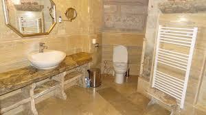 cave konak hotel cappadocia turkey bathroom in a cave