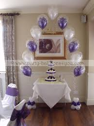 wedding arch balloons wedding balloons fresh silk flowers pew end bows chair cover