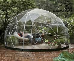 garden igloo bubble tent transparent stargazer dome garden igloo patio geodesic
