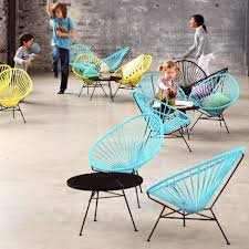 Acapulco Outdoor Chair Ok Design Acapulco Mini Chair For Children Modern And