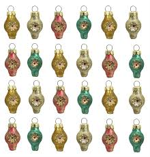 vintage indent reflector ornaments traditions