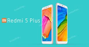 Xiaomi Redmi 5 Plus Xiaomi Redmi 5 Plus 4 64gb Gold
