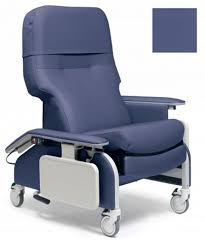 lumex deluxe clinical care recliner with drop arms tray graham