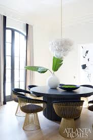 Melanie Turner Interiors Spotted Buckhead Black And White Beauty U2014 Sentrell Design Studio