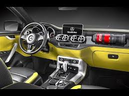 mercedes pick up mercedes pickup interior 2017 in detail mercedes x class pickup