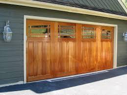 Wood Overhead Doors Clingerman Doors Custom Wood Garage Doors Clearville Pa