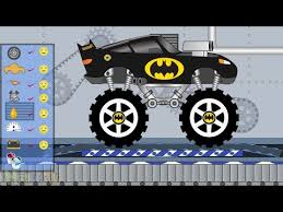 monster truck video for disney lightning mcqueen and dinoco big truck video for kids