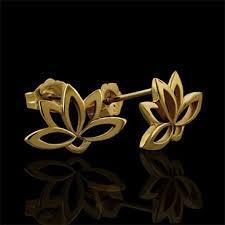 gold earring studs designs diamond flower ring flower pendant flower charms