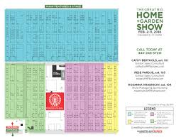 floor plan exhibitor rates u0026 contract for the great big home