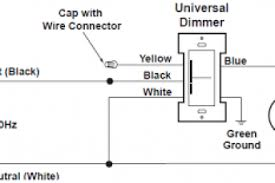 wiring diagram dimmer switch single pole wiring diagram