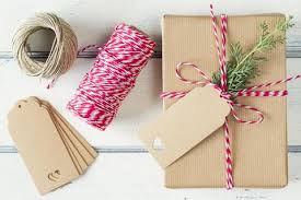 rustic christmas wrapping paper 3 ways to wow with christmas gift wrap periwinkle and clay