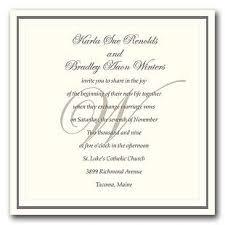 Proper Wedding Invitation Wording Formal Wedding Invitation Wording Plumegiant Com