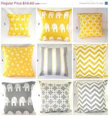 Nursery Decorative Pillows On Sale Pillows Yellow Pillow Baby Nursery Decorative Throw
