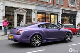 purple bentley mulsanne bentley mansory continental gt speed 18 april 2014 autogespot