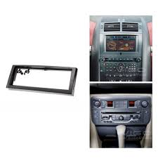 peugeot 407 coupe interior 11 030 car radio fascia panel for citroen c5 peugeot 407 stereo